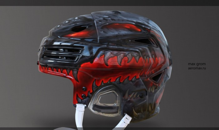 airbrush helmet,airbrush Moscow,best airbrush,airbrush examples,drawing on the helmet,airbrush on a hockey helmet,airbrush on helmet the goalkeeper airbrushing on the helmet of the player,the art,art airbrush,airbrush Studio,airbrush beautiful